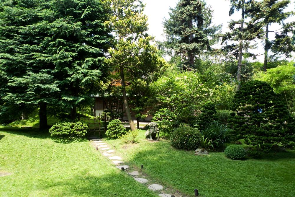 Visite des jardins d 39 albert kahn boulogne cachemire et - Les jardins albert kahn ...