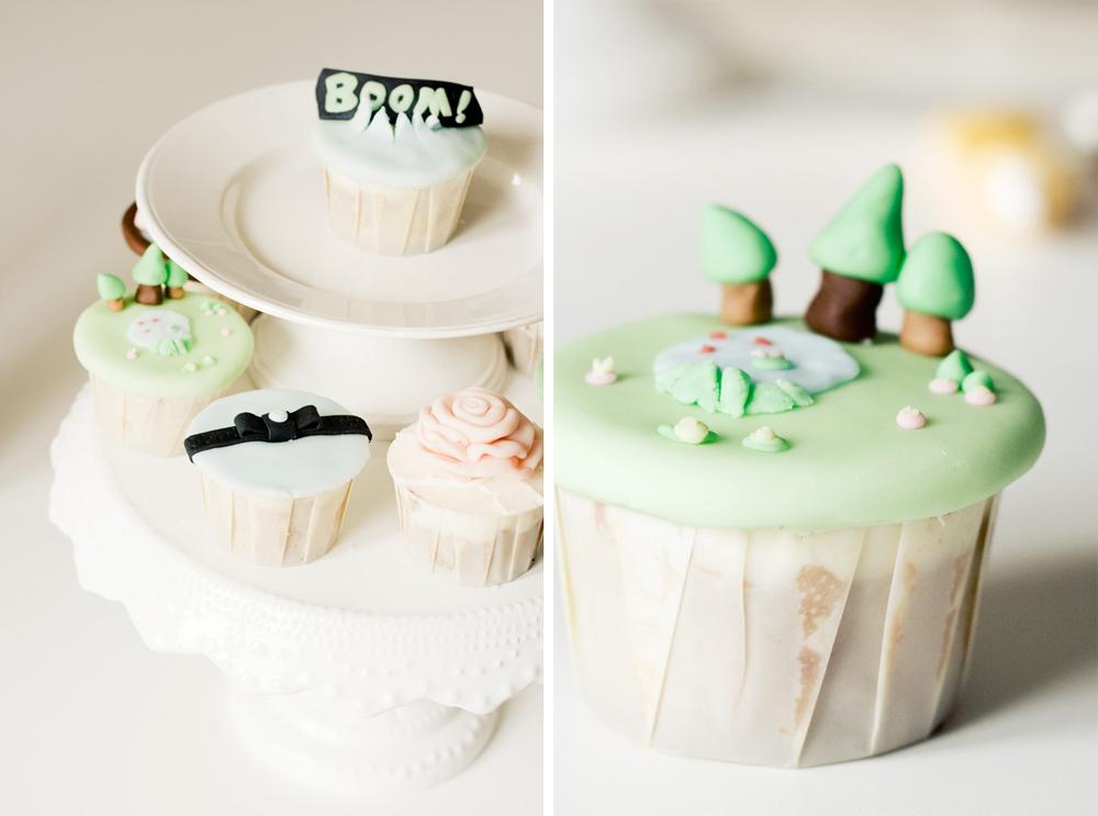 comment décorer un cupcake