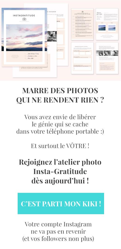 Atelier Insta-Gratitude